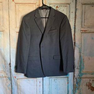 Tommy Hilfiger gray blazer suit jacket 44 regular